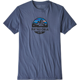 Patagonia Fitz Roy Scope Organic T-paita Miehet, dolomite blue